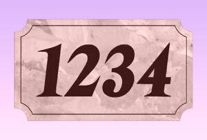 Special: Custom Address Plaques
