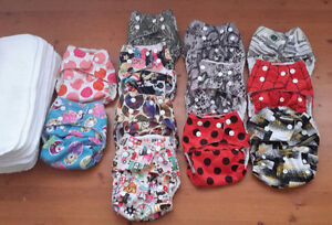 Kawaii Cloth diapers