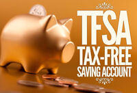 Save for your FUTURE by opening a TFSA NOW!!!