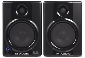 M-audio 4inch monitor speakers mint