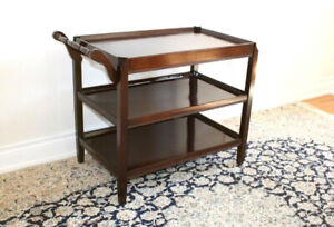 Solid wood side table / liquor table