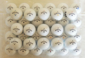 4 dozen Callaway golf balls - used and cleaned