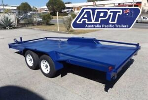 15FT TILTING CAR TRAILER | 2000KG GVM | SIDE RAILS | QLD MANUFACTURED