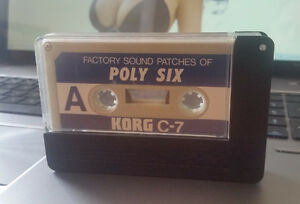 KORG Polysix Factory Sound Patches