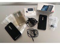 Asus Zenfone 2 ZE551ML 4/32 Android Mobile + plenty of accessories !