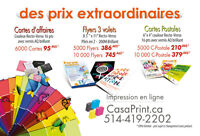 Service d'impression - Printing services - Wide format printing