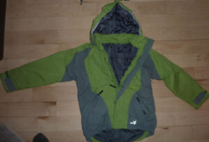 High-end SALEWA spring/fall coats, youth size 8/9