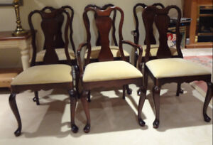 Gibbard Solid Mohagany chairs
