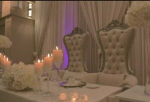 Wedding Chairs for Rent $300