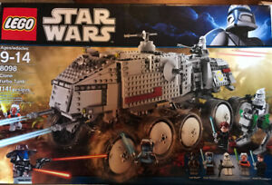 Lego Star Wars - Clone Turbo Tank (8098) 1141 pieces.