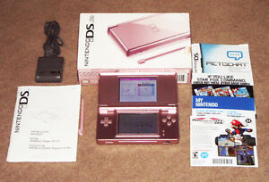 @*@  BOXED CORAL PINK DS LITE.