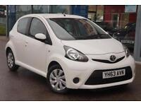 2013 TOYOTA AYGO 1.0 VVT i Move GBP0 TAX, NAV, B TOOTH and AIR CON