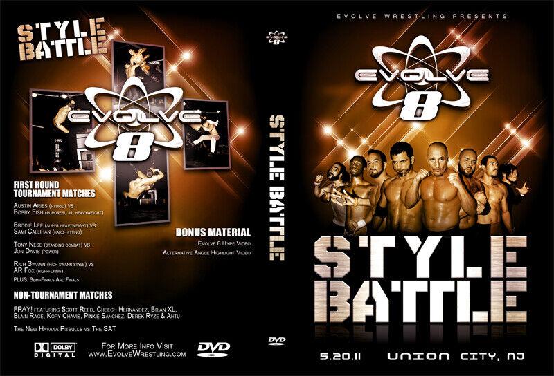 EVOLVE 8 Style Battle DVD - $15.00