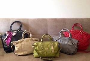 AUTHENTIC COACH LEATHER BAGS FOR SALE $250 - $330 Dee Why Manly Area Preview