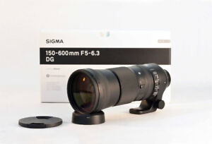 Sigma 150-600mm, f/5.6-6.3 DG OS HSM Contemporary for Nikon