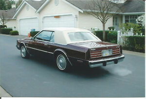 Collector car 1980 Chrysler Cordoba Coupe (2 door)