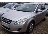 Kia ceed 1.6 GS 5dr. GUARANTEED FINANCE payment between £22-£44 PW
