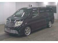 2006 Nissan Elgrand RIDER S AUTECH 2.5 FULL LEATHERS LOW MILES Automatic