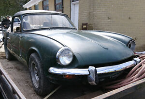 1969 triumph spitfire project car