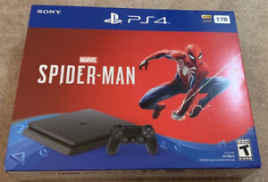 PS4 Spiderman Bundle - Brand New and in Sealed Box