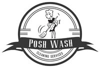 Posh Wash Cleaning Services!