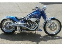 Custom Harley Davidson Badboy very high spec STUNNING!!!