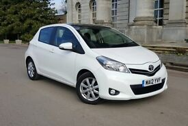 Toyota Yaris 1.33 VVT-i T Spirit M-Drive S 5dr Automatic Panoramic Roof Paddle Shift £6100