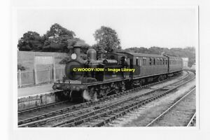 rp7273 - Steam Train at Freshwater Railway Station , Isle of Wight - photograph
