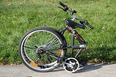 "NEW COLUMBA 26"" Folding Bike Shimano 18 speed Black (SP26S_BLK)"