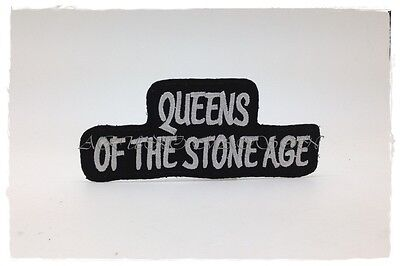 New Queens Of The Stone Age Patch Embroidered Sew Iron On Rock Band Heavy Metal