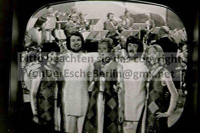 STARLETS: ROSY SINGERS - Rex GILDO - 4 OriginalFotos VINTAGE - FOTO: Ingo BARTH