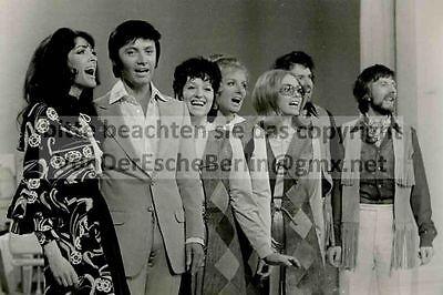 STARLETS: ROSY SINGERS - Rex GILDO - 3 OriginalFotos VINTAGE - FOTO: Ingo BARTH