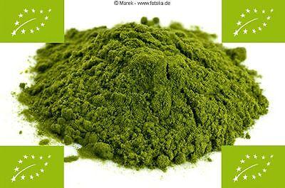 1kg BIO Weizengraspulver, Weizengras-Pulver, 100% rein