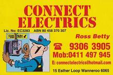 CONNECT ELECTRICS Wanneroo Wanneroo Area Preview