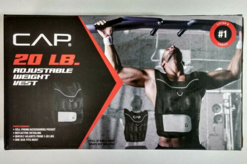 CAP 20 lb Adjustable Weighted Vest Brand NEW FREE~Shipping!