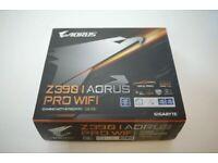 GIGABYTE Z390 I AORUS PRO WIFI GAMING PC MOTHERBOARD Mini ITX DDR4 M.2 SSD 3706