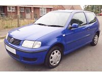 2001 Volkswagen Polo 1 Litre 3 Door Cheap Insurance Low Mileage learner car corsa yaris micra clio