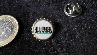 Bier Beer Pin Badge Huber Bräu
