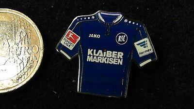 KSC Karlsruher SC Trikot Pin Badge Home 2016/17 2 Bundesliga Klaiber Markisen image