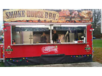 18FT CATERING TRAILER WITH NEW EQUIPMENT