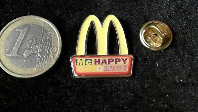 McDonalds Mc Donalds MCD Pin Badge Happy Day M MC Happy 1997