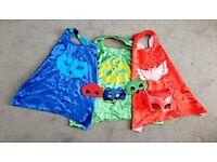 Children PJ Masks Cape Costumes