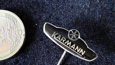 Karmann Anstecknadel kein Pin Badge Emblem Wolke schwarz