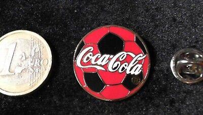 Coca Cola Pin Badge Coca Cola Fußball Ball selten rar