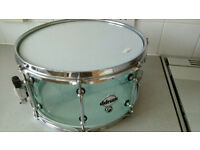 Acrylic see through coke bottle snare drum