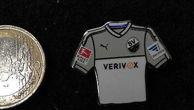 SV Sandhausen Trikot Pin Badge Home 2016/17 2 Bundesliga Verivox image