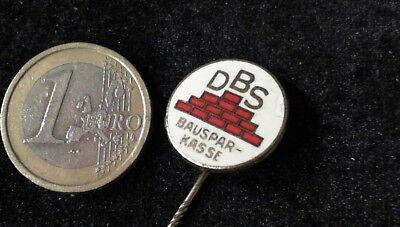 DBS Bausparkasse Anstecknadel Badge