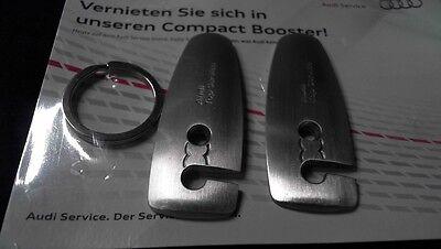 Audi Schlüsselanhänger Bausatz IAA  Keyring Top Service