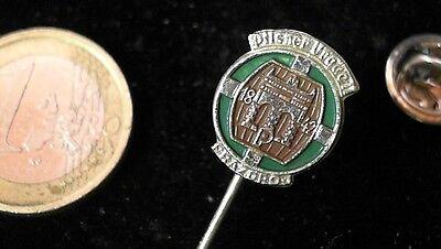 Bier Beer Anstecknadel Badge Pilsner Urquell Logo lackiert v2