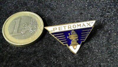 Petromax Starklicht Hängelanmpe 1930 Lampen Brosche Brooch Badge alt rare